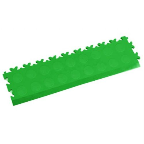 MotoLock Interlocking Tile Edging (Light Green CoinTop)